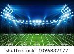 american football arena field... | Shutterstock .eps vector #1096832177