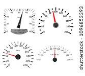 speedometer scales.... | Shutterstock . vector #1096853393