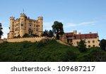 hohenschwangau castle in the... | Shutterstock . vector #109687217