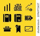 business filled set of vector...   Shutterstock .eps vector #1096972637