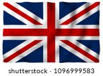 waving flag of the great... | Shutterstock . vector #1096999583