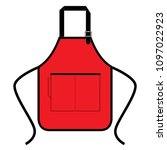 apron design vector   Shutterstock .eps vector #1097022923