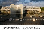 kiev ukraine may 07  aerial... | Shutterstock . vector #1097045117