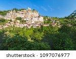 village of rocamadour in lot... | Shutterstock . vector #1097076977
