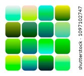 mobile app icon templates set.... | Shutterstock .eps vector #1097102747