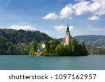 pilgrimage church of the... | Shutterstock . vector #1097162957