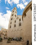 Small photo of Bari, Italia - 5.05.2018: Church of San Marko dei Veneziane in old town Bari in Italy