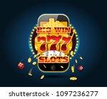online gambling concept... | Shutterstock .eps vector #1097236277