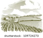 woodcut style illustration of a ... | Shutterstock .eps vector #109724273