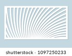 decorative card for cutting... | Shutterstock .eps vector #1097250233