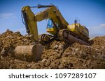 construction of the pipeline.... | Shutterstock . vector #1097289107