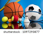 balls  sports equipment | Shutterstock . vector #1097293877