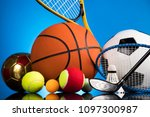 balls  sports equipment | Shutterstock . vector #1097300987