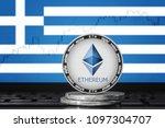 ethereum  eth  cryptocurrency ... | Shutterstock . vector #1097304707