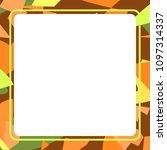 frame art colorful design...   Shutterstock .eps vector #1097314337