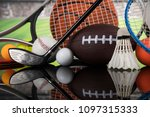 balls  sports equipment | Shutterstock . vector #1097315333
