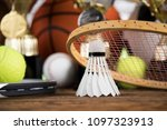 balls  sports equipment | Shutterstock . vector #1097323913