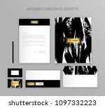 corporate identity business set....   Shutterstock .eps vector #1097332223