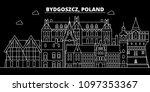 bydgoszcz silhouette skyline.... | Shutterstock .eps vector #1097353367