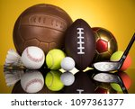 balls  sports equipment | Shutterstock . vector #1097361377