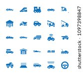 automobile icon. collection of...   Shutterstock .eps vector #1097398847
