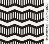 vector seamless zigzag line... | Shutterstock .eps vector #1097401823