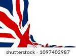 waving flag of the great... | Shutterstock . vector #1097402987