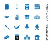 nobody icon. collection of 16... | Shutterstock .eps vector #1097404037