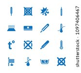 temperature icon. collection of ... | Shutterstock .eps vector #1097406467