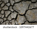 climate warming dry chapped... | Shutterstock . vector #1097442677