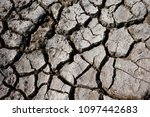 climate warming dry chapped... | Shutterstock . vector #1097442683