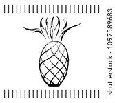 hand drawn vector illustration... | Shutterstock .eps vector #1097589683