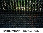 vertical used hanging plant... | Shutterstock . vector #1097620937