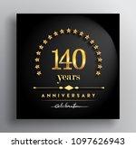 140 years anniversary... | Shutterstock .eps vector #1097626943