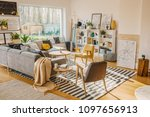 framed black and white city map ... | Shutterstock . vector #1097656913