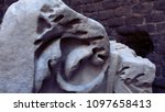 friezes on a funerary monument...   Shutterstock . vector #1097658413