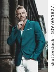 portrait of a businessman the...   Shutterstock . vector #1097691827