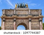 architectural fragment of... | Shutterstock . vector #1097744387