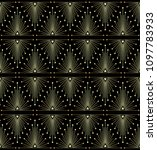 gradient gold black linear...   Shutterstock .eps vector #1097783933
