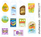 detergent package vector... | Shutterstock .eps vector #1097801177