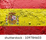 The Spanish Flag Painted On...