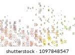 light green  red vector... | Shutterstock .eps vector #1097848547