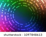 dark multicolor  rainbow vector ... | Shutterstock .eps vector #1097848613
