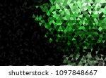 dark green vector shining... | Shutterstock .eps vector #1097848667