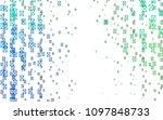 light blue  green vector of... | Shutterstock .eps vector #1097848733