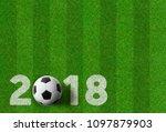 football background   2018 | Shutterstock . vector #1097879903