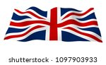 waving flag of the great... | Shutterstock . vector #1097903933