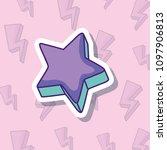 cute star icon | Shutterstock .eps vector #1097906813