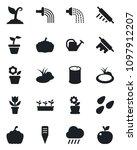 set of vector isolated black... | Shutterstock .eps vector #1097912207