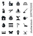 set of vector isolated black... | Shutterstock .eps vector #1097923103